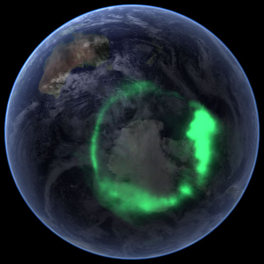 EarthGlobeAurora